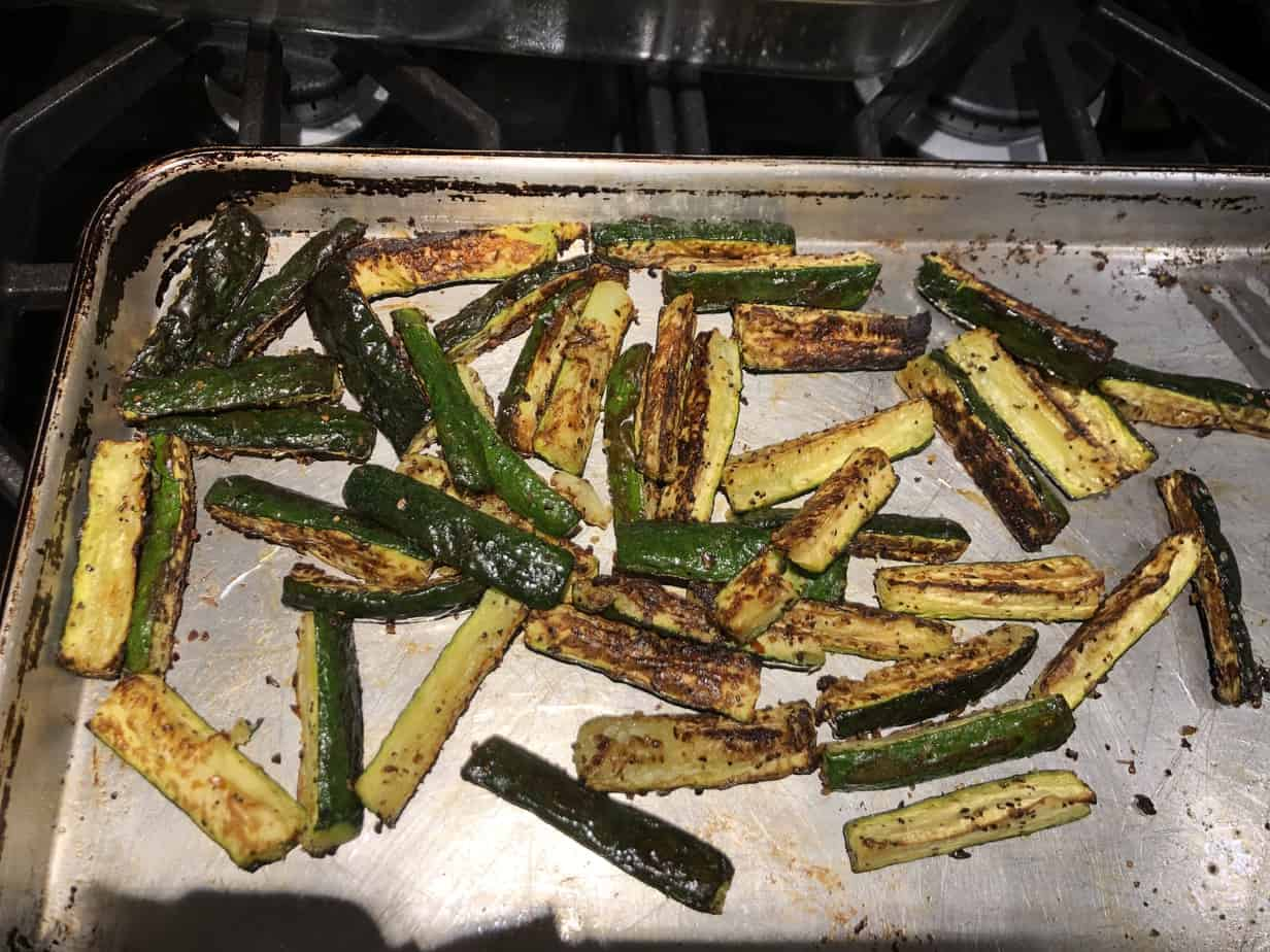 Even My Kids Love This Roasted Zucchini